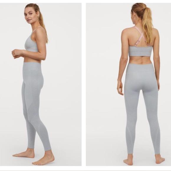 assez bon marché meilleure sélection de 2019 taille 7 H&M Sport seamless leggings NWT